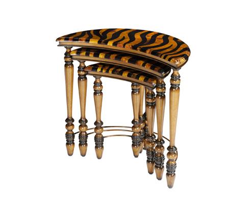 Michael Amini - Halfmoon Three Piece Nesting Tables - ACF-NST-CPTN-005