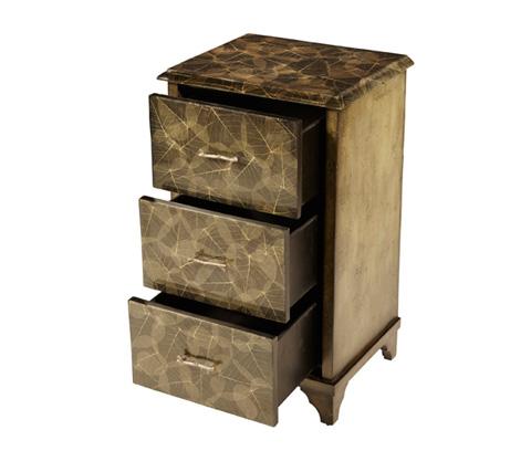 Michael Amini - Three Drawer Cabinet - ACF-STC-BURM-001