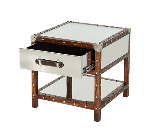 Michael Amini - Trunk Drawer End Table - ACF-TNK-ENDTB-02