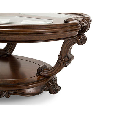 Michael Amini - Oval Cocktail Table - 09201-229