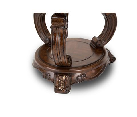 Michael Amini - Platine de Royale Chairside Table - 09222-229