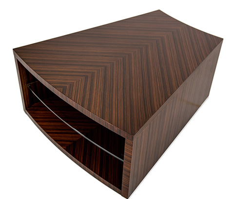 Image of Cloche Pie Wedge End Table