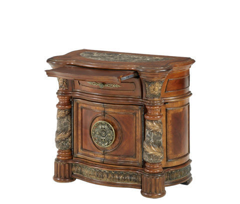 Michael Amini - Bedside Chest - 72040-55