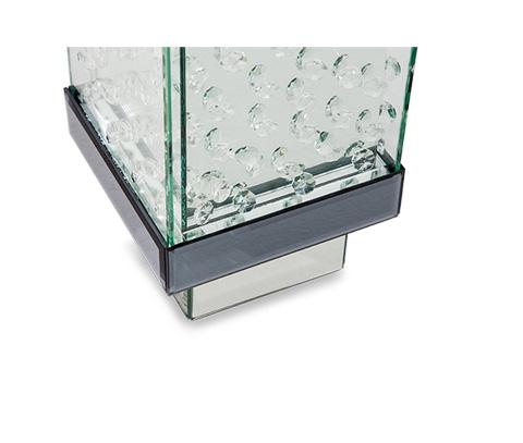 Michael Amini - Montreal Small Crystal Vase - FS-MNTRL153S
