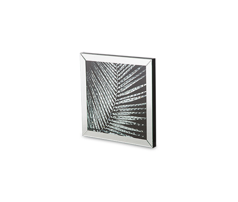 Image of Montreal Square Mirror Framed Wall Décor