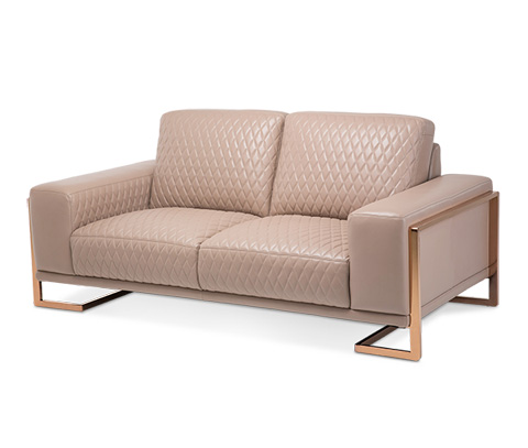 Image of Gianna Leather Loveseat