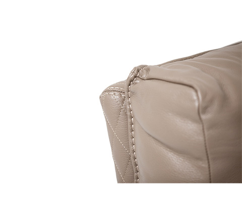 Michael Amini - Monica Leather Chair and a Half - MB-MNICA38-TPE-801