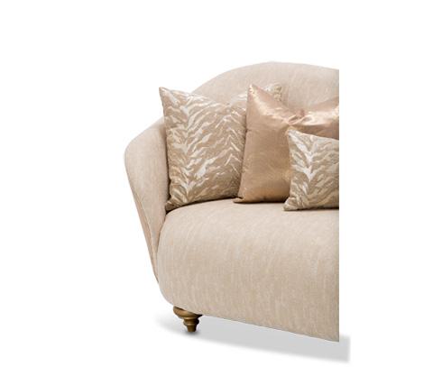 Michael Amini - Camelia Sofa in Bright Gold - ST-CMLIA15-ORO-806