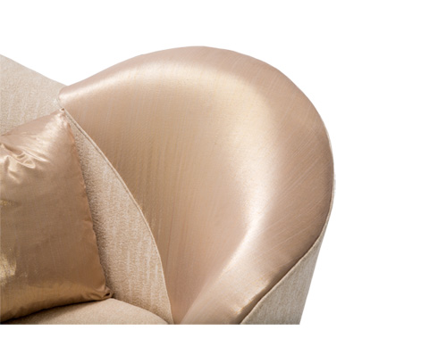 Michael Amini - Camelia Chair and a Half - ST-CMLIA38-ORO-806
