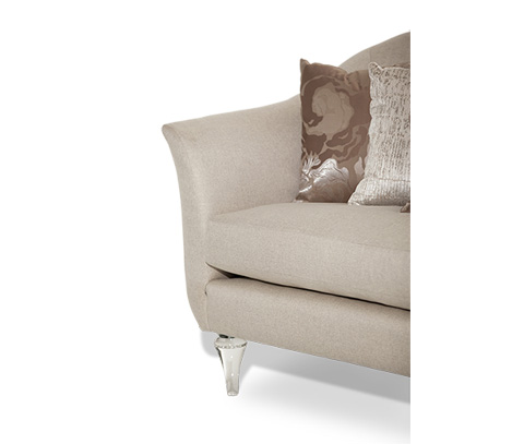 Michael Amini - Rodeo Sofa with Crystals - ST-RODEO15-PLT-002