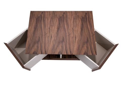 Michael Amini - Elan Rectangular Cocktail Table - TR-ELAN201
