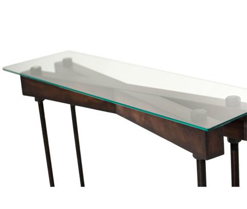 Michael Amini - Killington Console Table - FS-KLGTN223