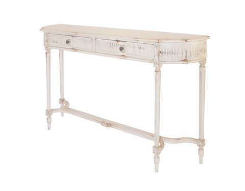 Alden Parkes - Provencal Two Drawer Console Table - ACCS-PROV2