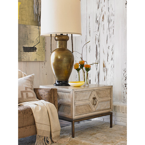 Ambella Home Collection - Diamond Side Table - 06806-900-001