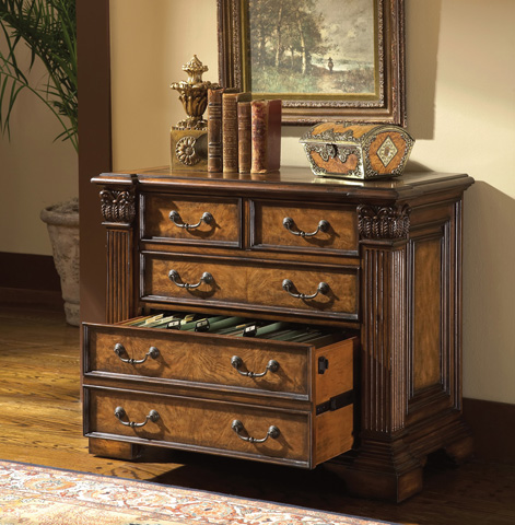 Ambella Home Collection - Beauregard File Cabinet - 08449-350-001