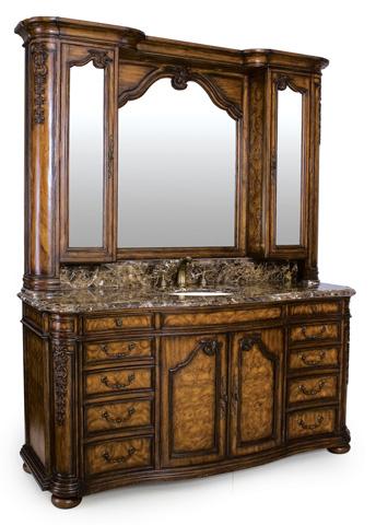 Ambella Home Collection - Trenton Mirror with Medicine Cabinet - 08917-140-074