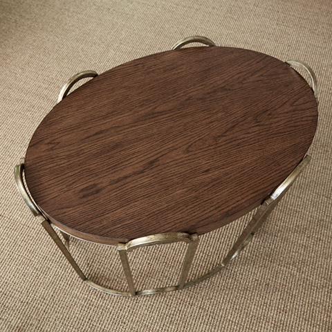 Ambella Home Collection - French Key Side Table - 09126-900-002