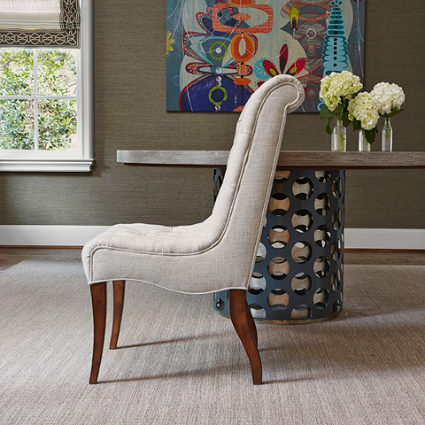 Ambella Home Collection - Buttoned Up Dining Chair - 810-00