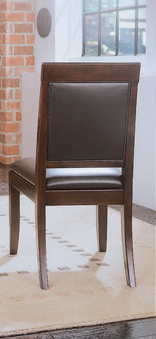 American Drew - Tribecca Upholstered Leather Side Chair - 912-622