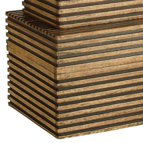 Arteriors Imports Trading Co. - Set of Trinity Boxes - 2222