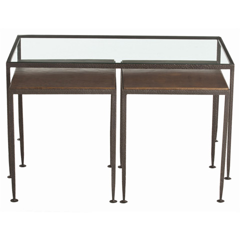 Arteriors Imports Trading Co. - Set of Knight Nesting Cocktail Tables - 6559