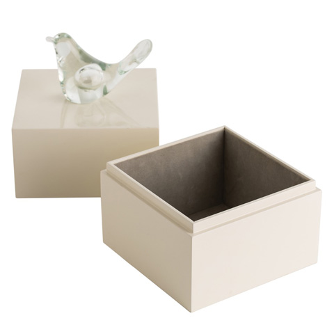 Arteriors Imports Trading Co. - Dove Small Box - DK9952