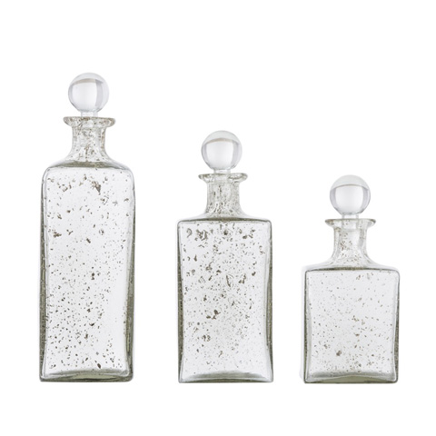 Arteriors Imports Trading Co. - Georgia Square Decanters-Set of Three - 2725