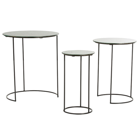Arteriors Imports Trading Co. - Osmond Nesting Tables-Set of Three - 4009