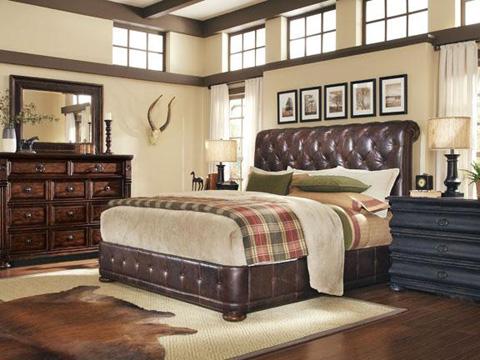 A.R.T. Furniture - Whiskey Oak Leg Nightstand - 205142-2304