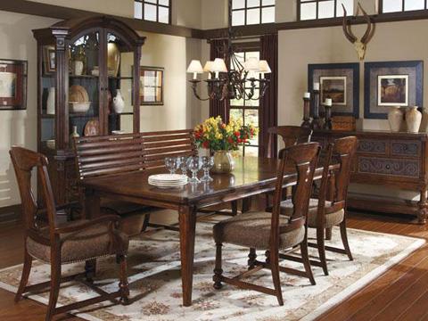 A.R.T. Furniture - Whiskey Oak Splat-Back Side Chair - 205204-2304