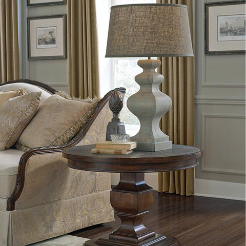 A.R.T. Furniture - Chateaux Grey End Table - 213140-2023