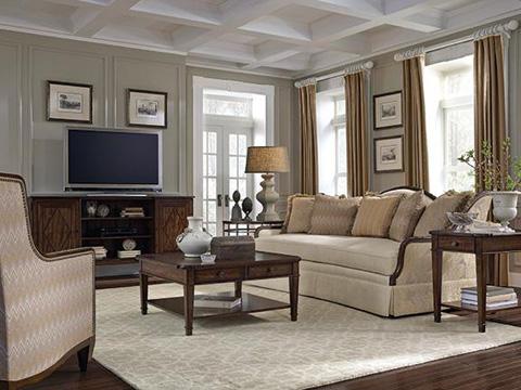 A.R.T. Furniture - Ava Creme Highback Arm Chair - 513534-5001AA
