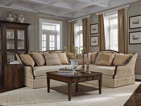 A.R.T. Furniture - Ava Cream Sectional - 513SECT2