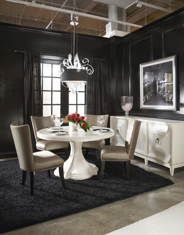 A.R.T. Furniture - Round Dining Table in Parchment - 208225-1817