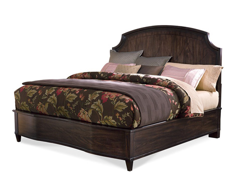 A.R.T. Furniture - King Leather Panel Bed - 161156-2636
