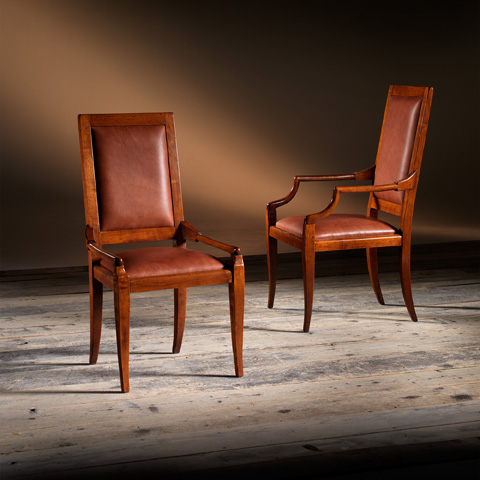 Artitalia Group - Arm Chair With Leather - VA46