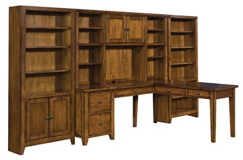 Aspenhome - Door Bookcase with 4 Adjustable Shelves - IMR-332