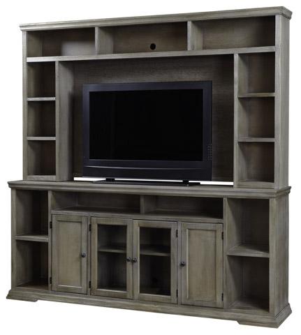 Aspenhome - Entertainment Center with Display Shelves - WCK1036/1036H-DRFSET