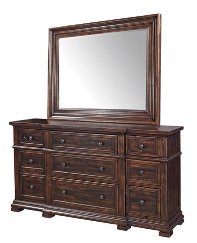 Aspenhome - Nine Drawer Breakfront Dresser - I59-454