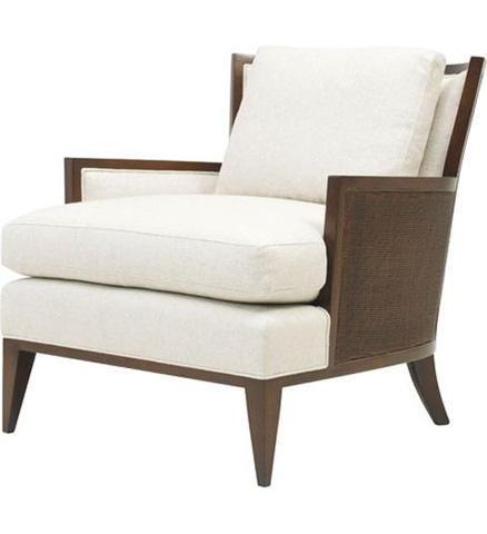 Baker Furniture - California Cane Lounge Chair - 6714C