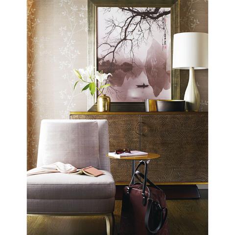 Baker Furniture - En Point Pedestal Table - 3683