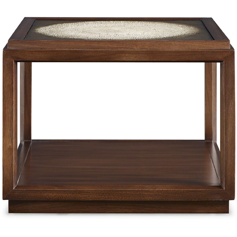 Baker Furniture - Bardo Bunching Table with Glass Top - 2056-3