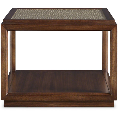 Baker Furniture - Bardo Bunching Table with Art Glass Top - 2056-4