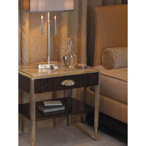 Baker Furniture - Gracie One Drawer Nightstand - 4004
