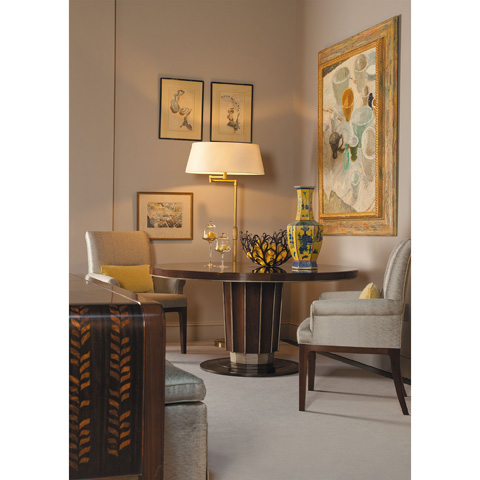 Baker Furniture - Sutton Round Dining Table - 4080G