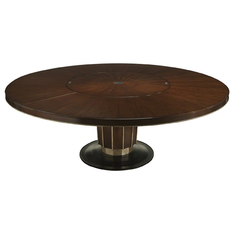 Baker Furniture - Sutton Round Dining Table with Lazy Susan - 4081G