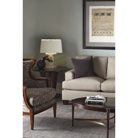 Baker Furniture - Upholstered Accent Chair - 476