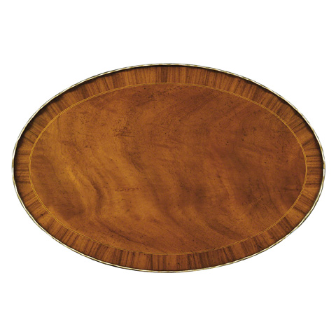 Baker Furniture - Oval Accent Table - 5058