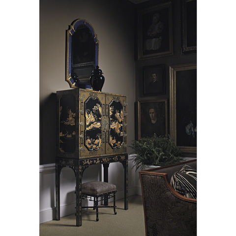 Baker Furniture - William and Mary Looking Glass Mirror - 5312