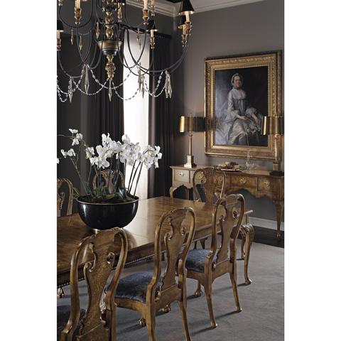 Baker Furniture - Queen Anne Walnut Server - 5330